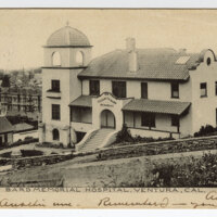 Bard Memorial Hospital, Ventura, Cal. Post Card