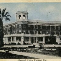 Oxnard Hotel postcard