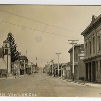 Main St. East, Ventura, Cal. Post Card