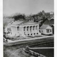 Carnegie Library Exterior Shortly After Completion, 1907