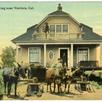 House Moving postcard