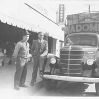 Manuel K. Inadomi With Produce Buyer