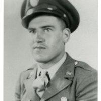 Hemeterio Romero Portrait in Army Uniform