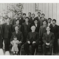Japanese Methodist Church Congregation with Dr. M. Harris