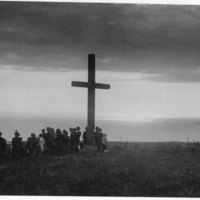 Raising of Hill Cross