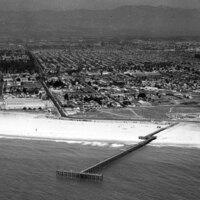 Port Hueneme Pier Aerial View