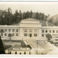 County Court House, Ventura Postcard