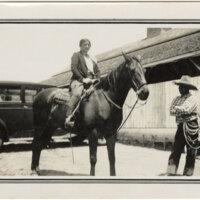 Carmen Camarillo Astride a Horse
