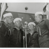 Four Black Seabee Singers