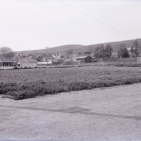 Ventura farms and houses with hills