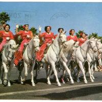 Fiesta Time in Santa Barbara postcard