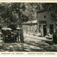 Wheelers Hot Springs postcard