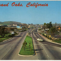 Thousand Oaks, California postcard