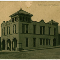 City Hall, Ventura, Post Card