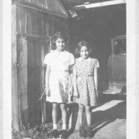Viola and Lupe De La Rosa as Girls