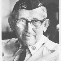 Max Riave in American Legion Uniform
