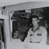 Young Men at Schlumberger Logging Unit