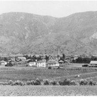 View of Santa Paula, California