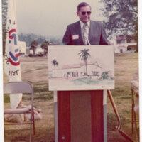 Walter Hoffman at Ventura County Historical Museum Ground Breaking