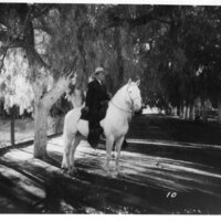 Adolfo Camarillo on Horseback
