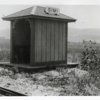 Railroad Shelter for Passengers