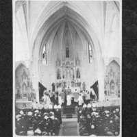 Inside of Santa Clara Catholic Church