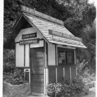 Smallest Post Office, Wheeler Springs postcard