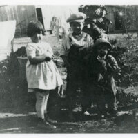 Rosa, Bud, and Ruby Vanegas, Childhood Group Photo
