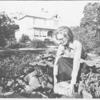 Johanna Overby Picking Pumpkins