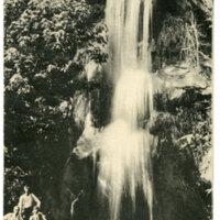 Pine Creek Falls near Fillmore postcard