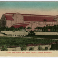 Oxnard Beet Sugar Factory postcard