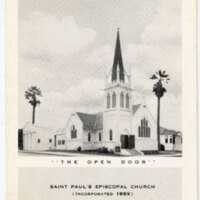 Saint Paul's Episcopal Church Postcard