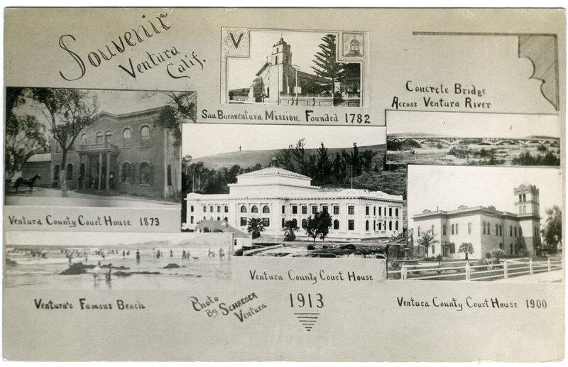 Ventura Souvenir Postcard