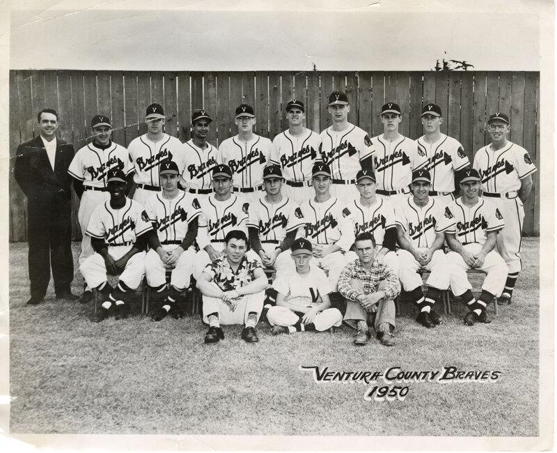 Ventura County Braves Baseball Team