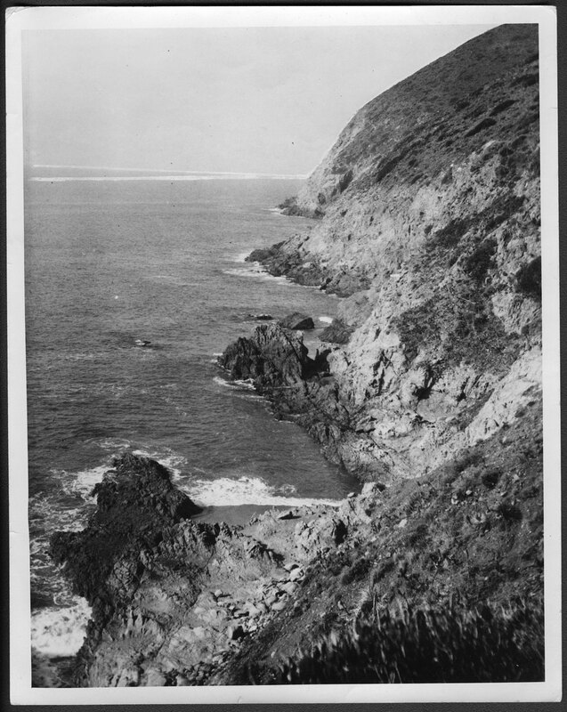 Pacific Coast Highway Prior to Construction