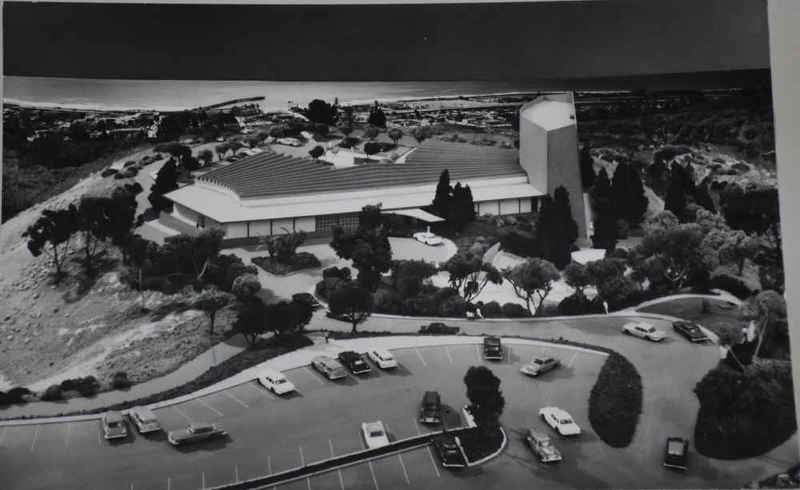 Model of proposed Ventura County Forum of the Arts