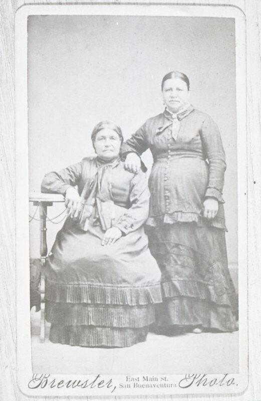 Maria Martina Cota Ruiz and Rafaela Francisca Romona Cota Ruiz