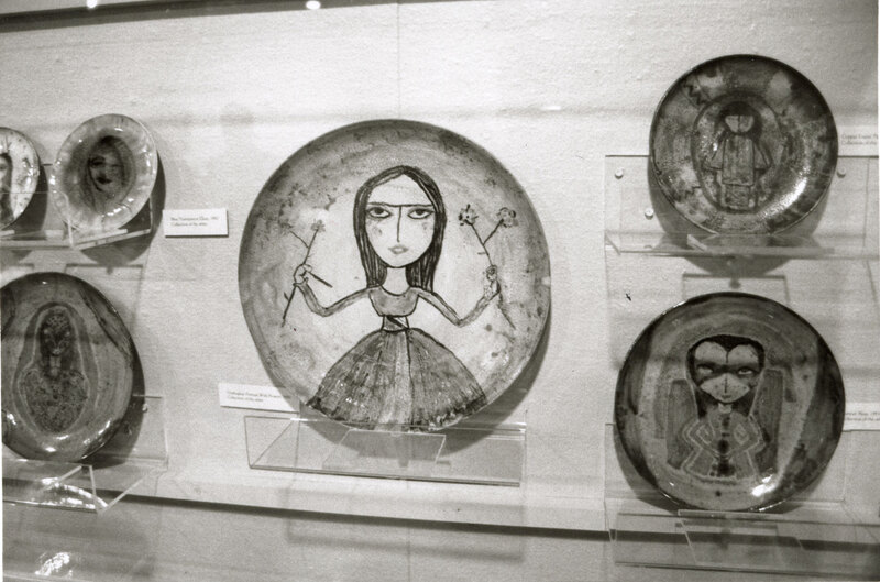 """""""Plates"""" by Beatrice Wood"""