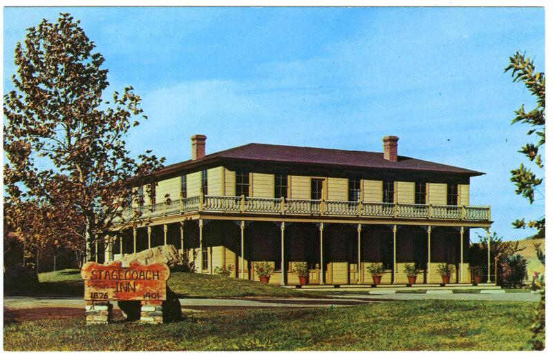 Stagecoach Inn Museum postcard