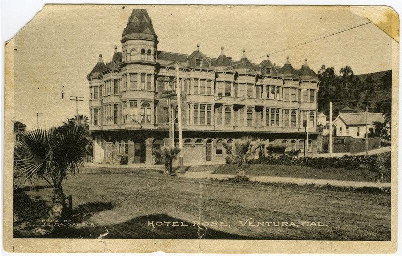 Hotel Rose post card