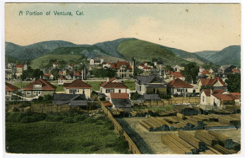 Portion of Ventura Postcard