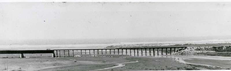 Bridge across the Santa Clara River