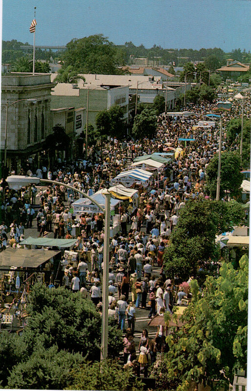 Ventura Street Fair Postcard