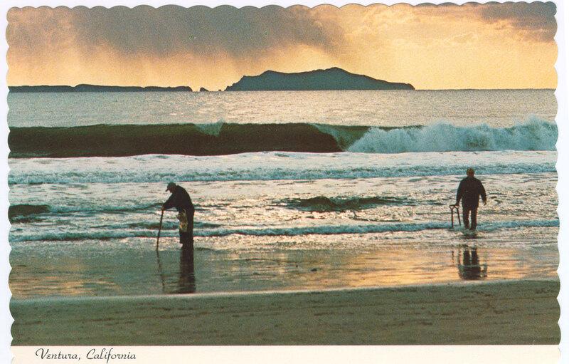 Ventura Clam Diggers Postcard