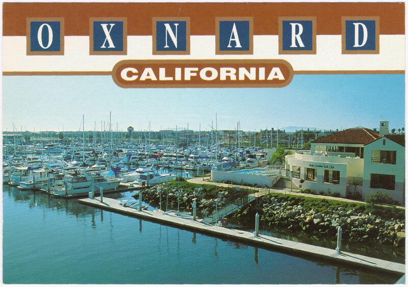 Channel Islands Harbor postcard