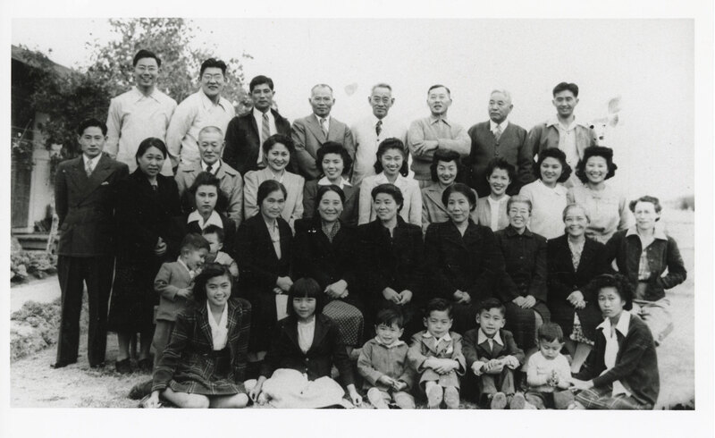 Residents of Gila River Relocation Center, 1944