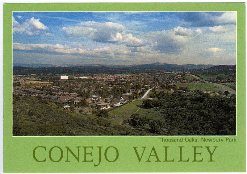 Conejo Valley Postcard