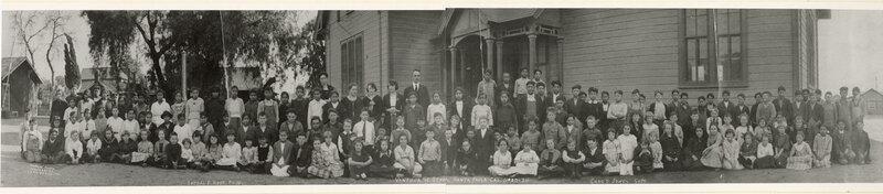 Student Body Photo, Ventura Street School, 1920-1921