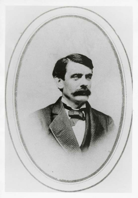 Richard Bard, as groom in 1876