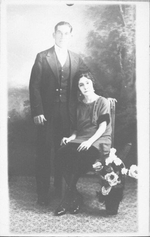 Juan Ordoñez and Amadita Chavez Portrait